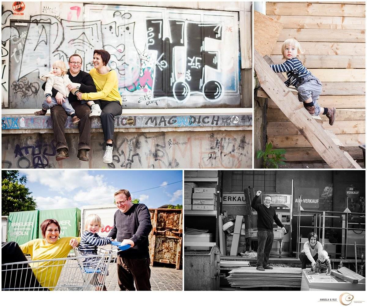 Portraitfotografie - urbane Familienfotografie