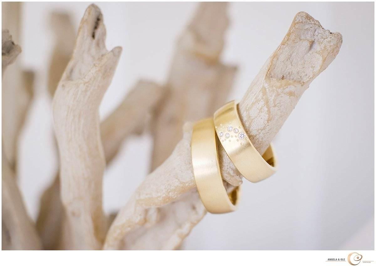 Hochzeit im Felgenhof - Eheringe