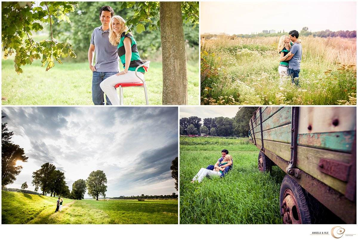 Portraitfotografie  Paarportrait im Freien